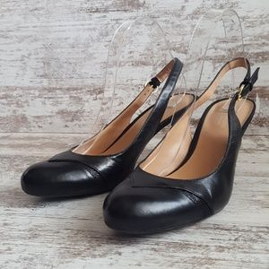 Naturalizer Shoes - ⚃9.5 Narrow Naturalizer N5 Leather Pumps